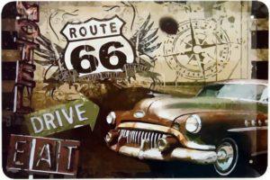 Plaque Route 66