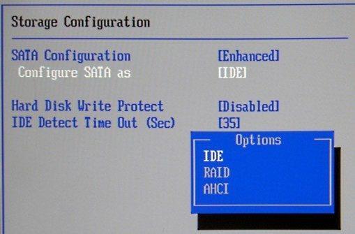 Activer AHCI dans Windows