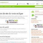 Créer un site e-commerce sous Prestashop