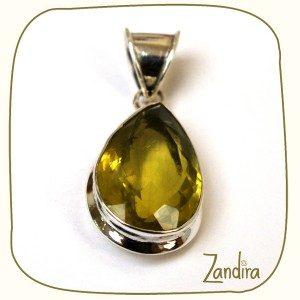Un bijoux citrine pour vous illuminer