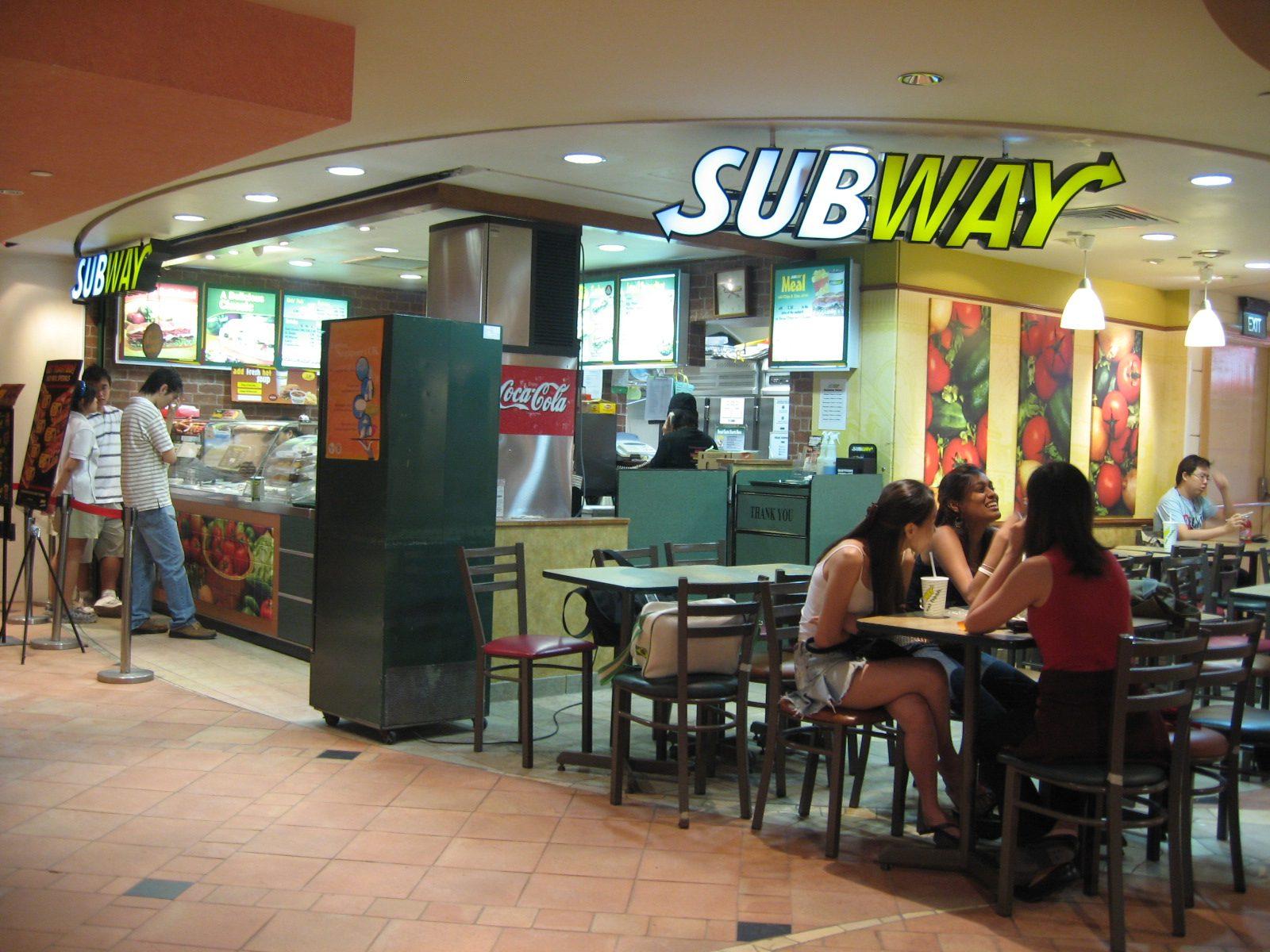 Les restaurants Subway à Paris