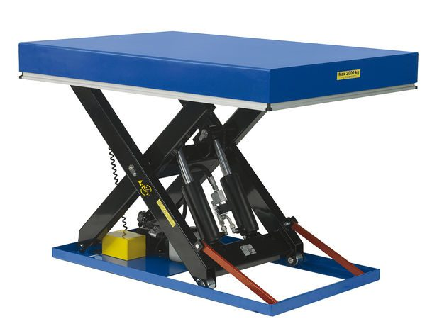 Pourquoi choisir une table élévatrice et un chariot de manutention ?