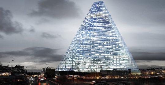 Tour Triangle, architecture de pointe