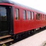 Un wagon-lit des années 30 converti en hôtel
