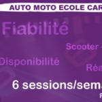 Auto Ecole Carpeaux, meilleure auto-école pour réussir votre permis B