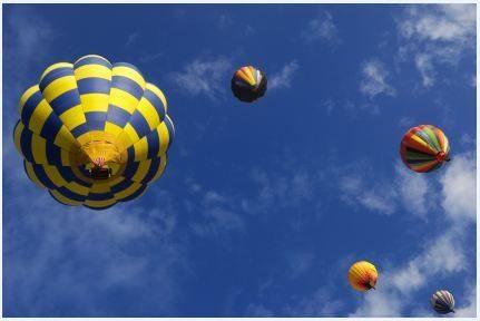 Le vol libre en ballon pour découvrir les châteaux de la Loire