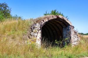 Underground passage or shelter