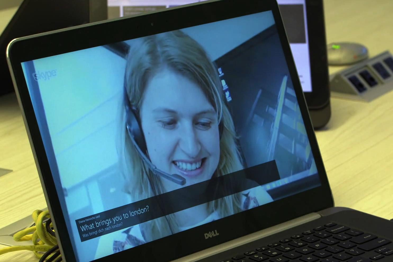La traduction en temps réel devient possible avec Skype Translator