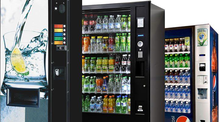distributeurs automatiques de boissons froides