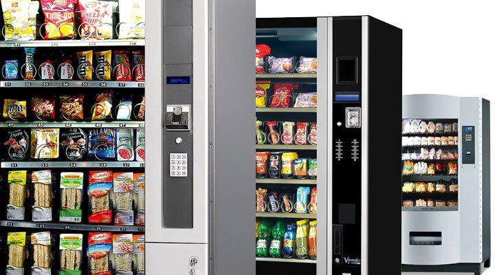 distributeurs automatiques de snacks, confiseries et sandwichs