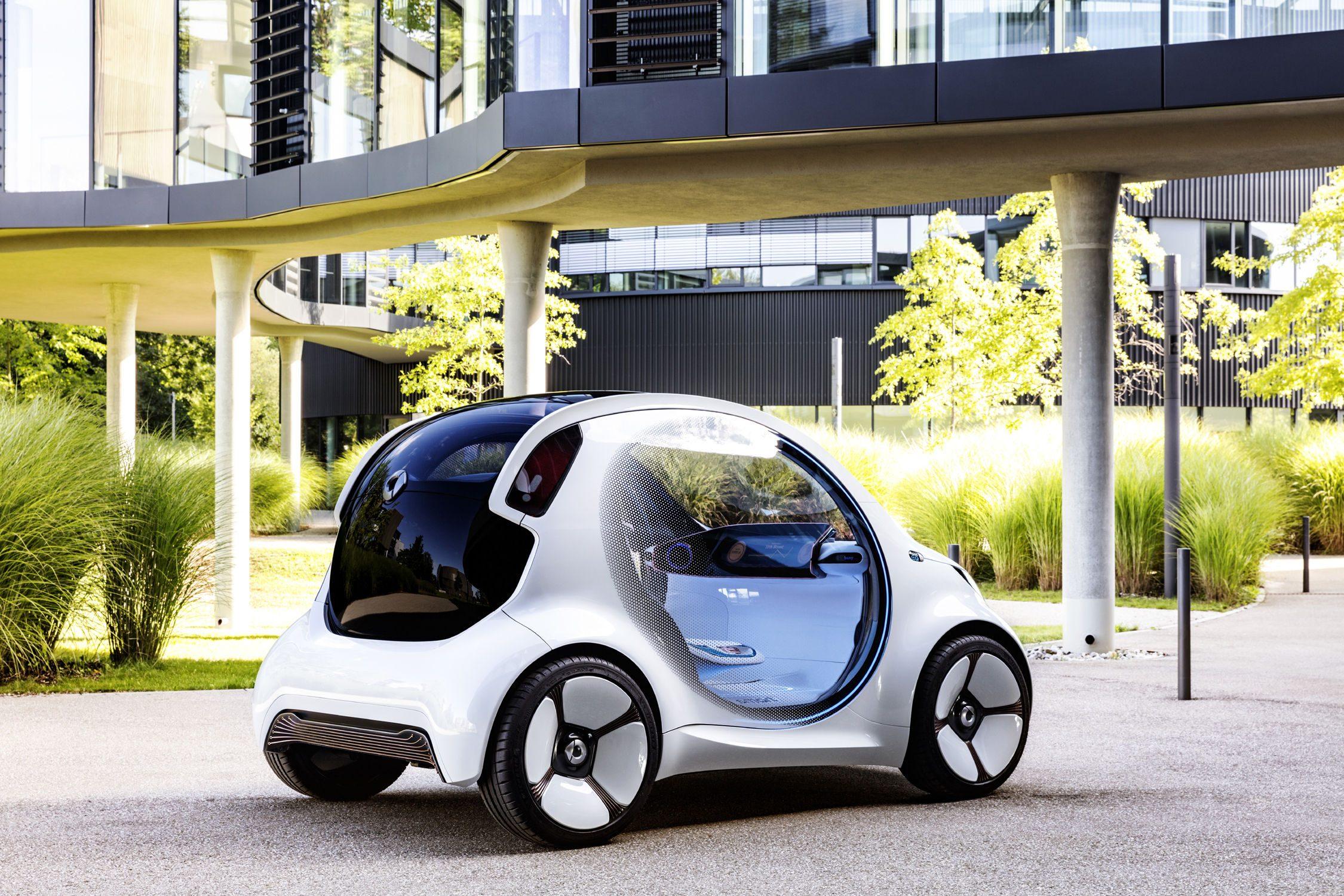 Smart ForTwo Vision EQ, une innovation automobile très mignonne