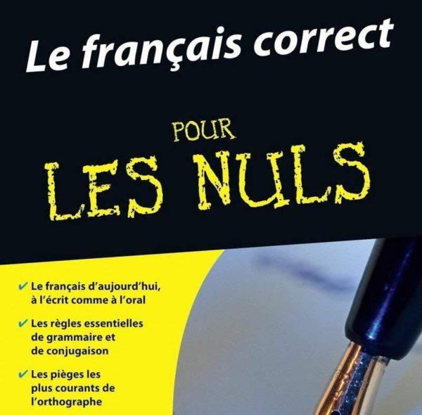 français correct