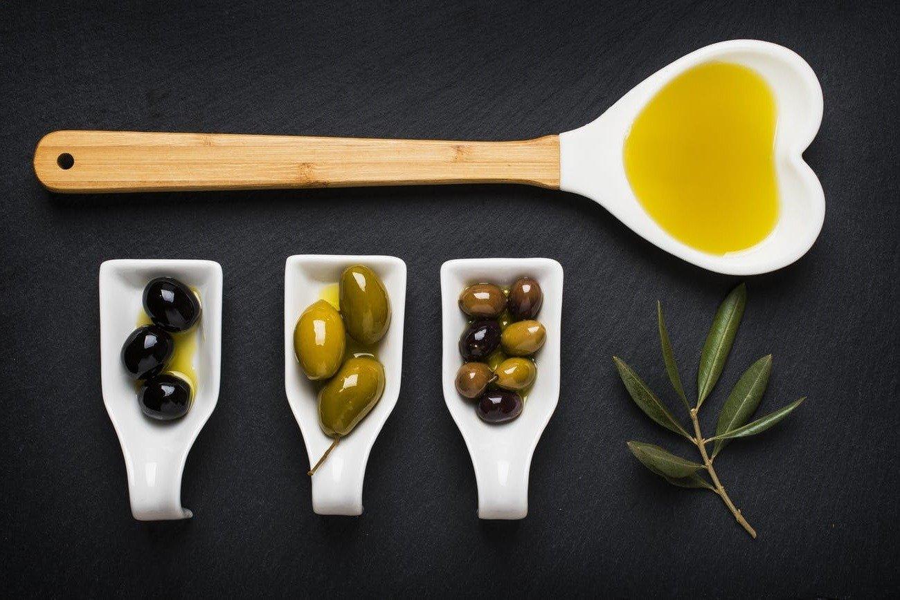 Massage huile d'olive